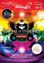 Gay.me of Thrones - A4Flyer