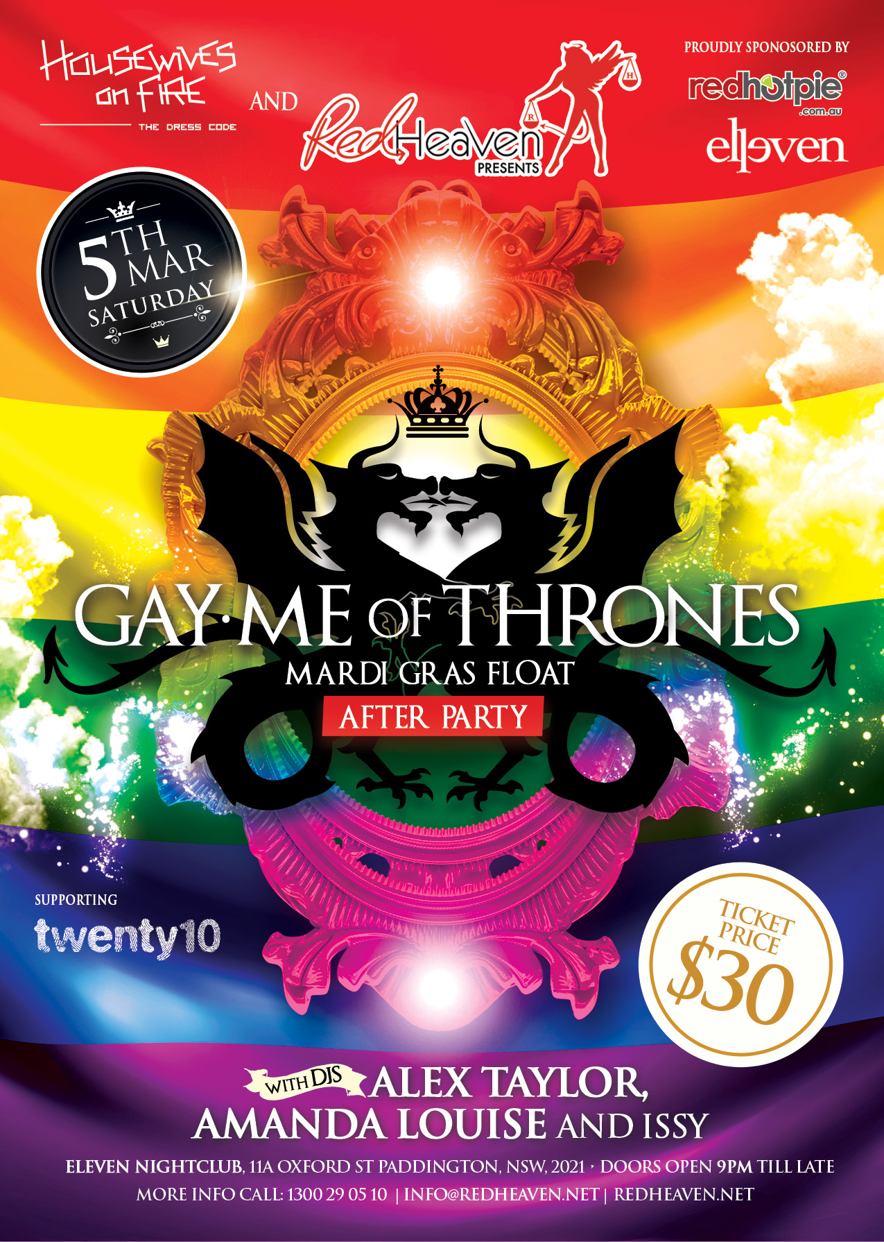 Gay.me of Thrones - A4Flyer