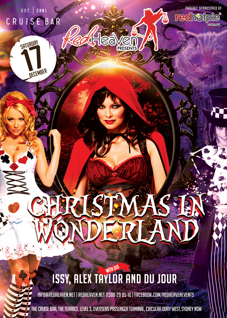 Christmas In Wonderland.Christmas In Wonderland Red Heaven Eventsred Heaven Events